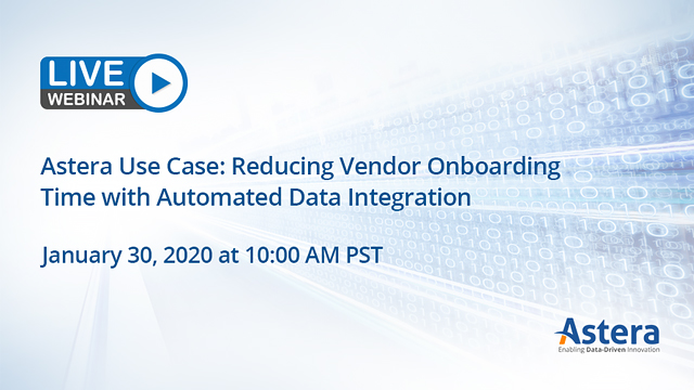 Astera Use Case: Reducing Vendor Onboarding Time with Automated Data Integration