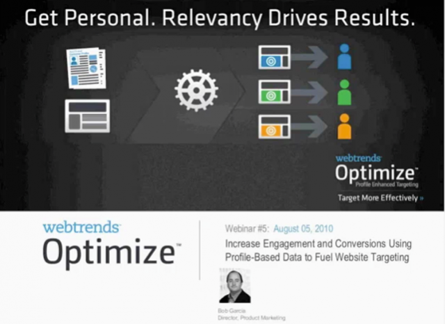 Increase Engagement with Behavioral Data to Fuel Targeting