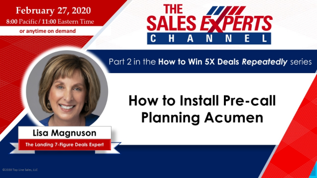 How to Install Pre-call Planning Acumen