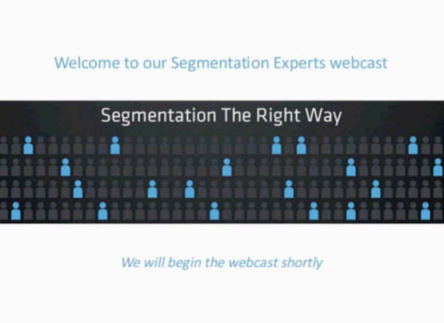 Segmentation: The-Right Way