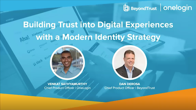How to Build Trust with a Modern Identity Strategy