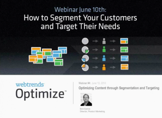 Segment Your Customers and Target Their Needs