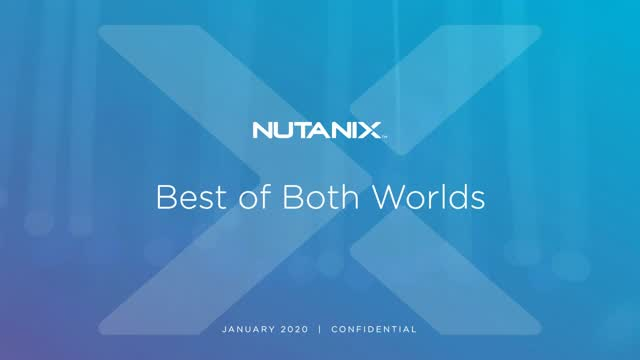 Best of Both Worlds - The Power of Cloud for On-Premises Database Workloads