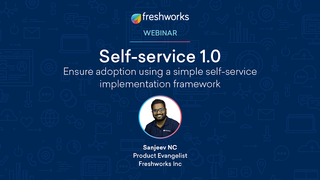 Self-service 1.0 – A simple self-service implementation framework