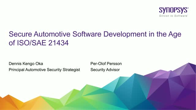 Secure Automotive Software Development in the Age of ISO/SAE 21434