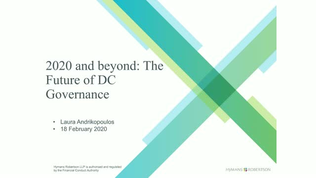 2020 and beyond: The Future of DC Governance