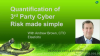 Quantification of 3rd Party Cyber Risk Made Simple