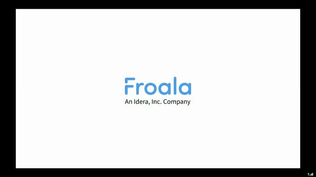 Froala - Your Search For The Perfect Editor Is Over