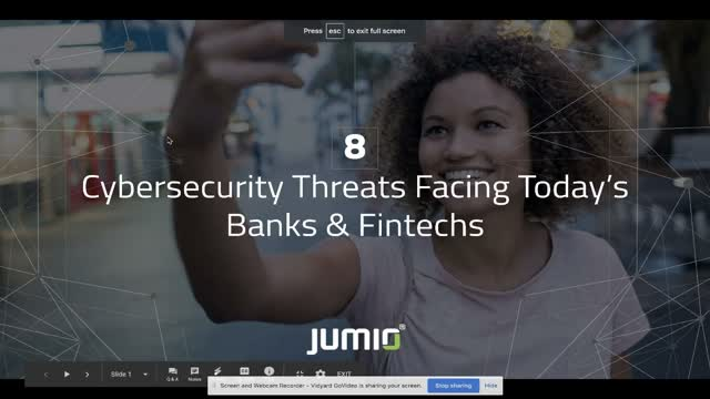 8 Cybersecurity Threats Facing Banks & Fintechs
