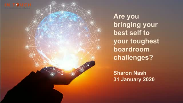 Are you bringing your best self to your toughest boardroom challenges?