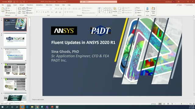 Fluent Updates in ANSYS 2020 R1