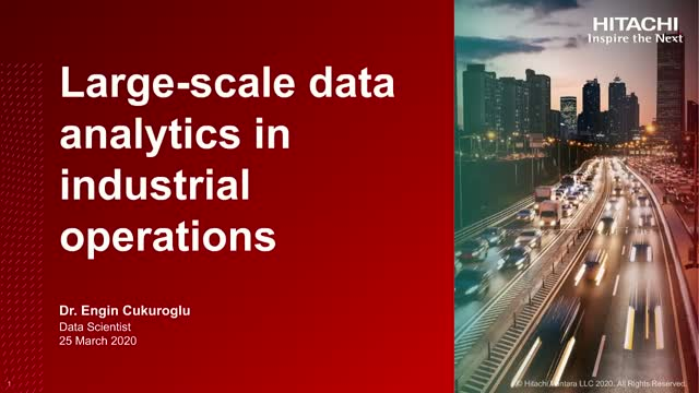 Large-Scale Data Analytics in Industrial Operations