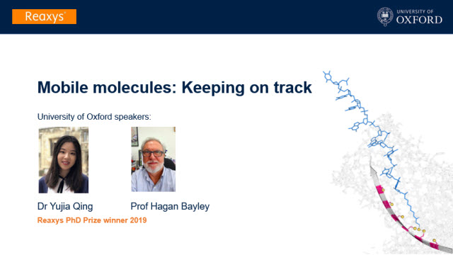 Mobile molecules: Keeping on track