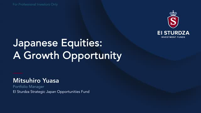 Japanese Equities: A Growth Opportunity