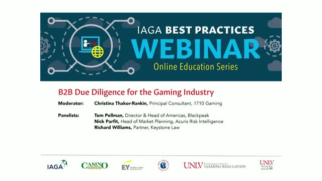 B2B Due Diligence for the Gaming Industry