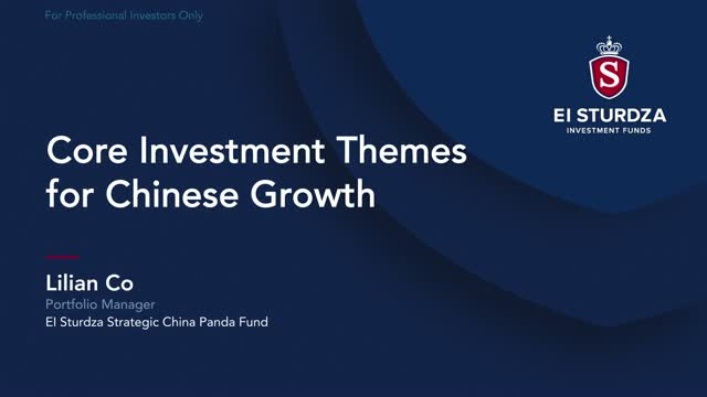 China Equities: Core Investment Themes for Chinese Growth