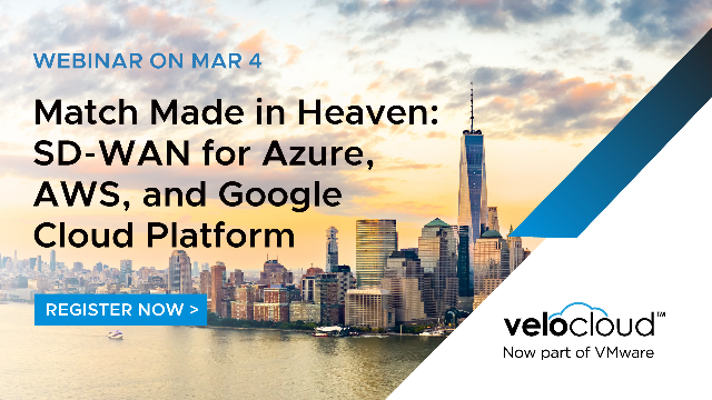 Match Made in Heaven: SD-WAN for Azure, AWS, and Google Cloud Platform