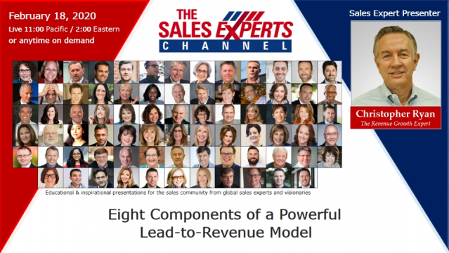 Eight Components of a Powerful Lead-to-Revenue Model