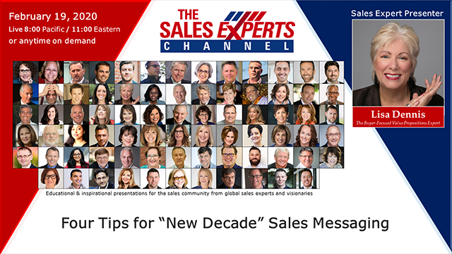 "Four Tips for ""New Decade"" Sales Messaging"