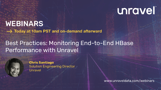 Best Practices: Monitoring End-to-End Hbase Performance with Unravel