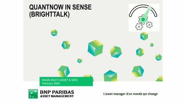 Discover QuantNow: the new feature available in Sense