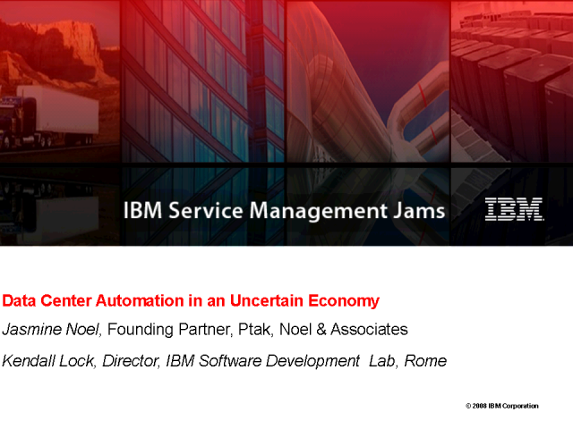 Data Center Automation in an Uncertain Economy