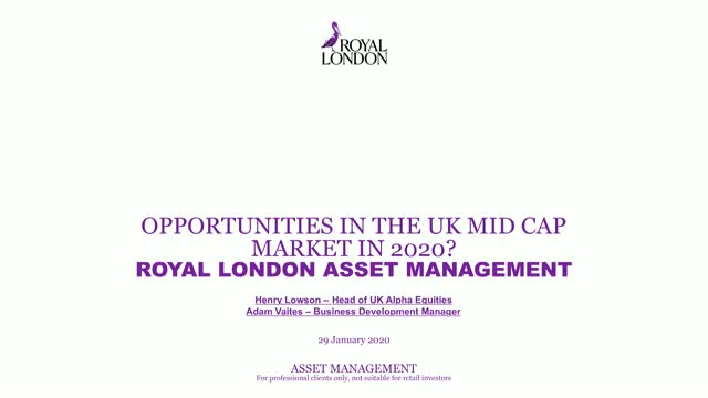 Opportunities in the UK Mid Cap Market in 2020