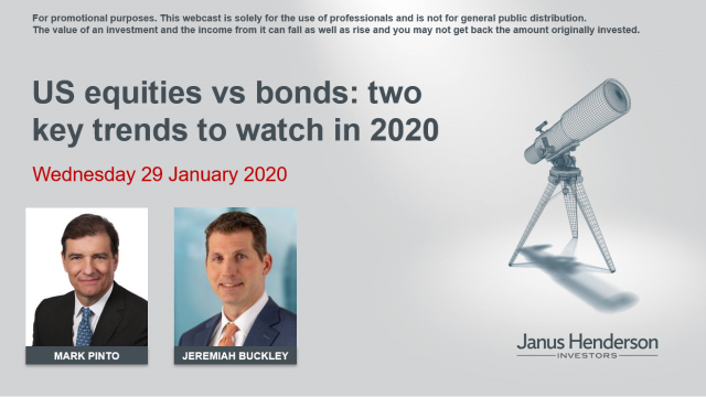 US equities vs bonds: two key trends to watch in 2020