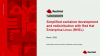 Simplified container development and redistribution with RHEL