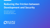 Reducing the Friction between Development and Security