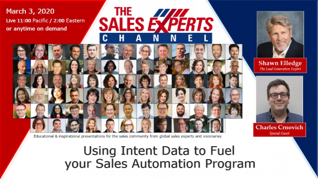 Using Intent Data to Fuel your Sales Automation Program