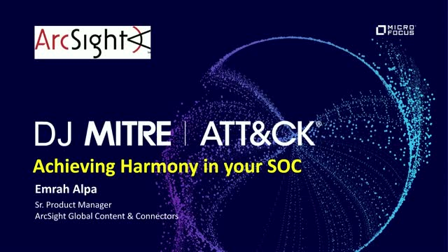 DJ MITRE: Achieving Harmony in your SOC