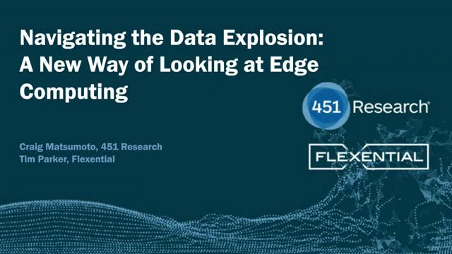 Navigating the Data Explosion: A New Way of Looking at Edge Computing