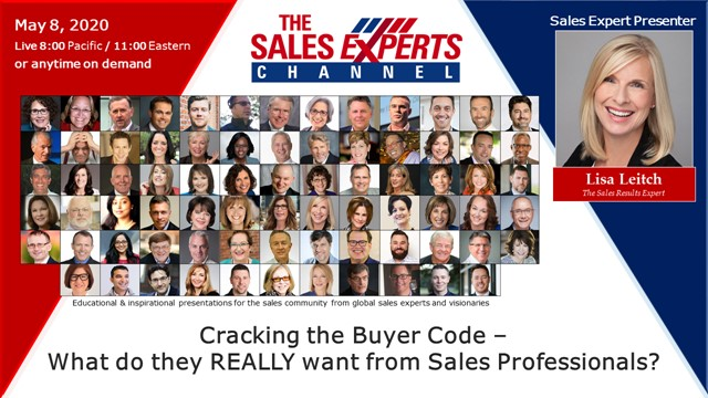 Cracking the Buyer Code – What do they REALLY want from Sales Professionals?