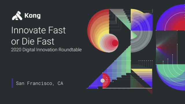 Innovate Fast or Die Fast: 2020 Digital Innovation Roundtable
