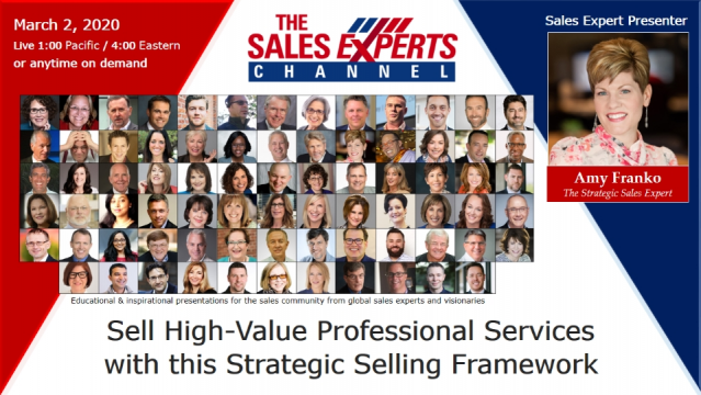 Sell High-Value Professional Services with this Strategic Selling Framework