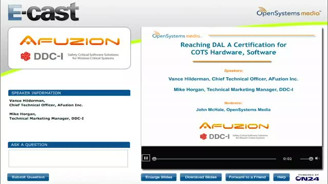 Reaching DAL A Certification for COTS Hardware, Software