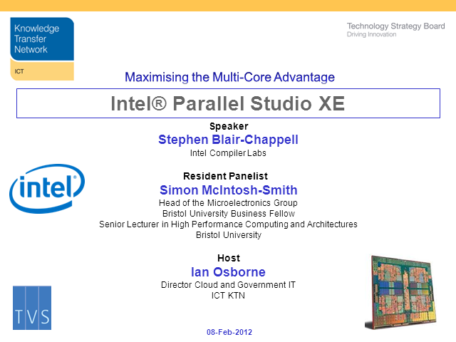 Multicore Design Tools: An Overview of Parallell Studio XE