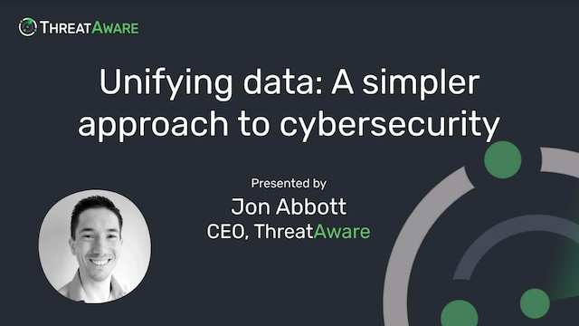 Unifying data: A simpler approach to cybersecurity