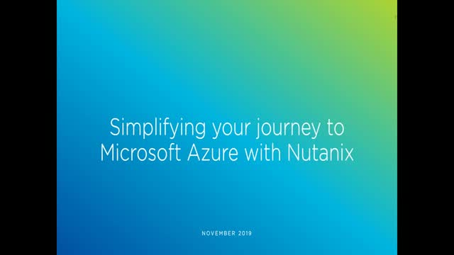 Simplifying your Journey to Microsoft Azure