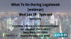 "#ICYMI ""What To Do At Legalweek"""