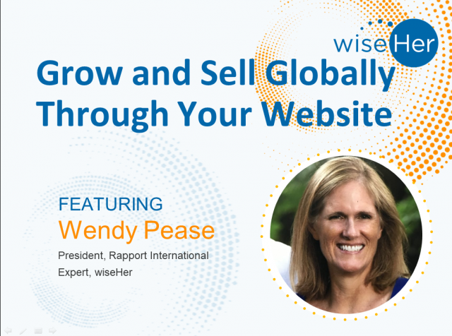 Grow and Sell Globally Through Your Website