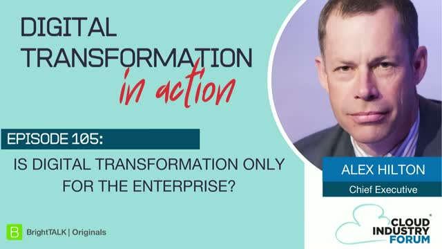 Is Digital Transformation Only for the Enterprise?