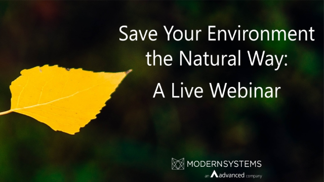 Save Your Environment the Natural Way