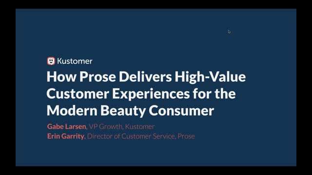 How Prose Delivers High Value Customer Experiences for Modern Beauty Consumers