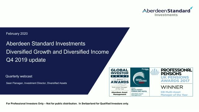 Diversified Growth and Income update Q4 2019