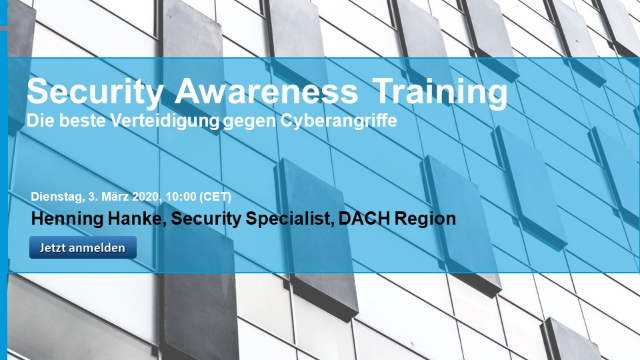 Deutsch: Security Awareness Training, die beste Verteidigung gegen Cyberangriffe