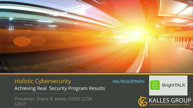 Holistic InfoSec: Achieving Real Information Security Program Results
