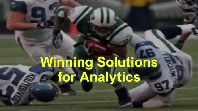 Winning Solutions for Analytics: Reducing Lower Body Injuries in the NFL
