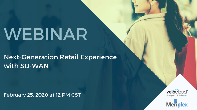 Next-Generation Retail Experience with SD-WAN